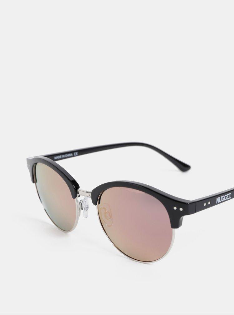Čierne slunečné okuliare NUGGET Sherrie