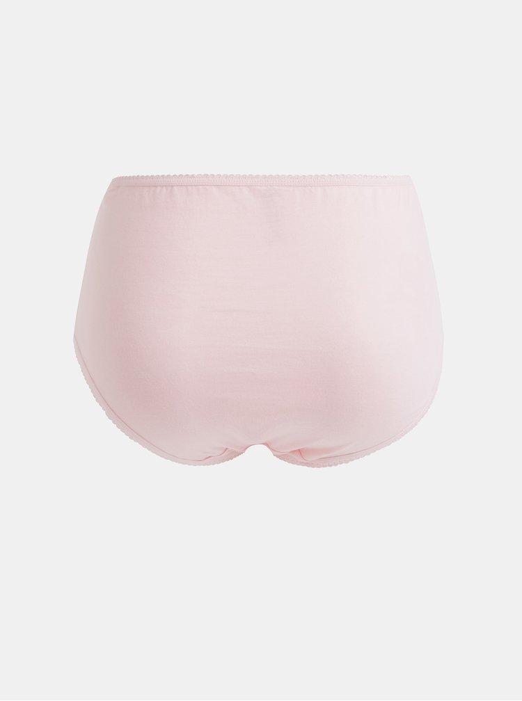 Sada pěti kalhotek v šedé, černé, bílé a růžové barvě M&Co