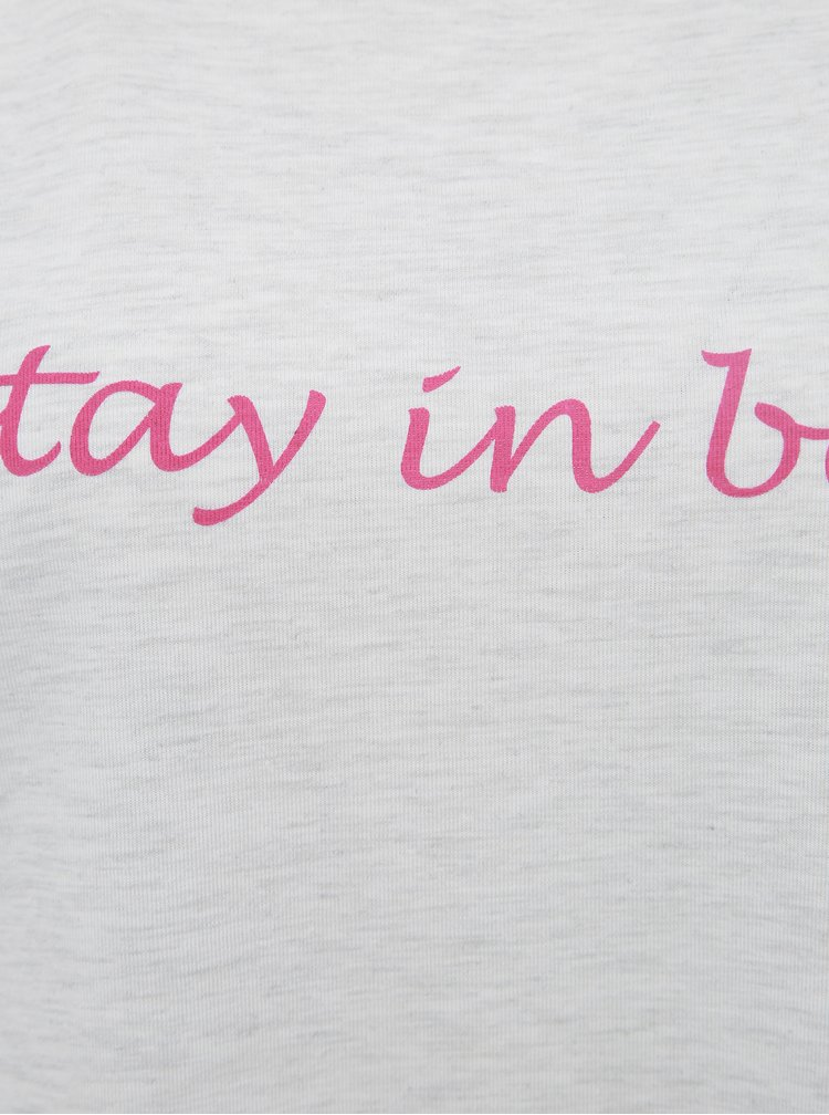 Svetlošedá nočná košeľa M&Co Stay