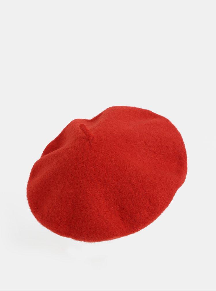 Červený baret Haily´s Franny