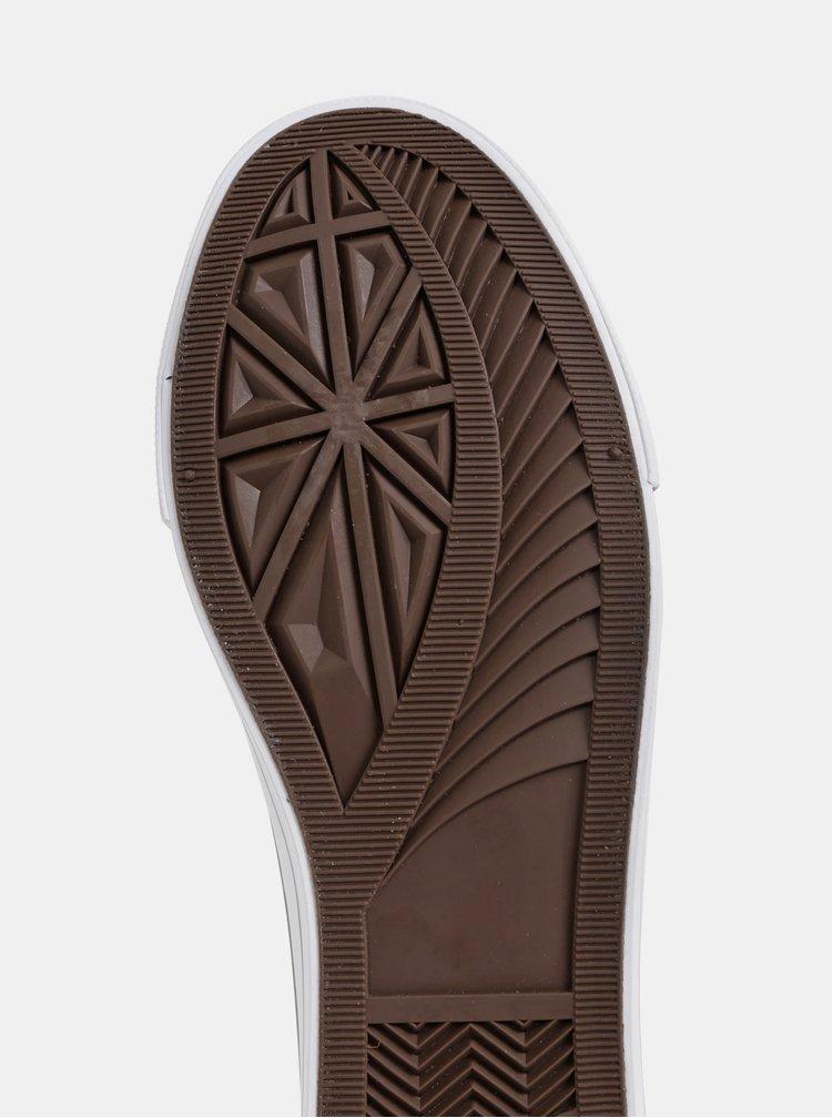 Černé dámské květované tenisky Haily´s Madelaine