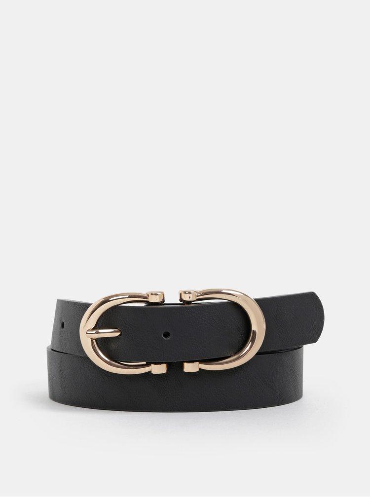 Černý dámský kožený pásek Haily´s Harmonie