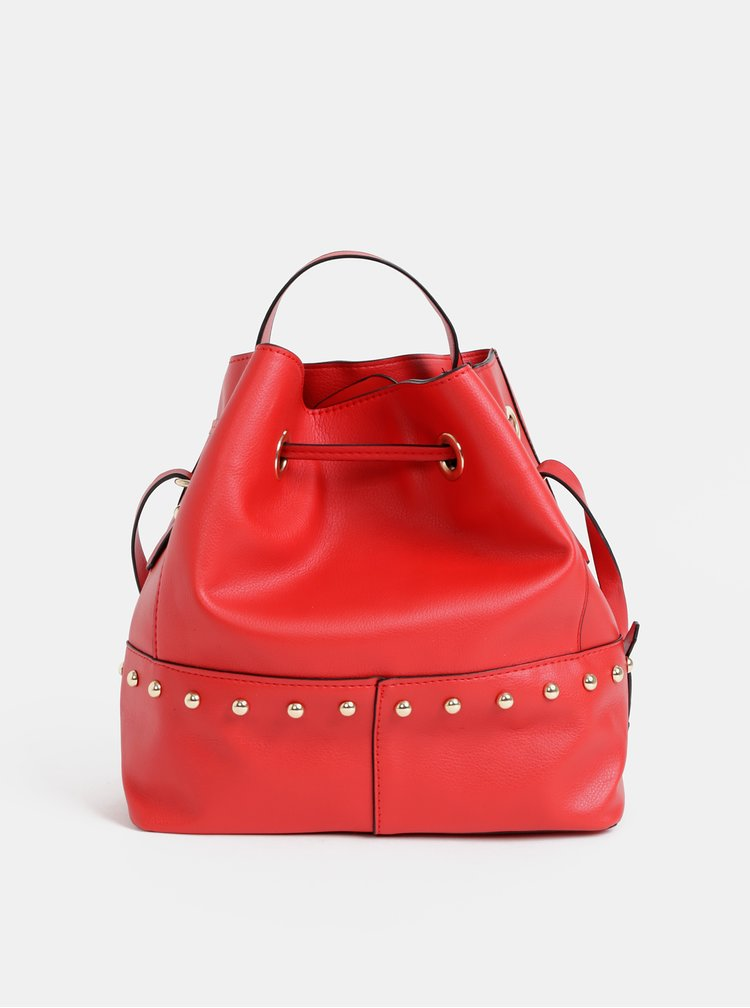 Červená vaková kabelka Haily´s Katha