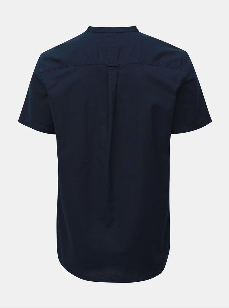 Tmavomodrá košeľa Burton Menswear London