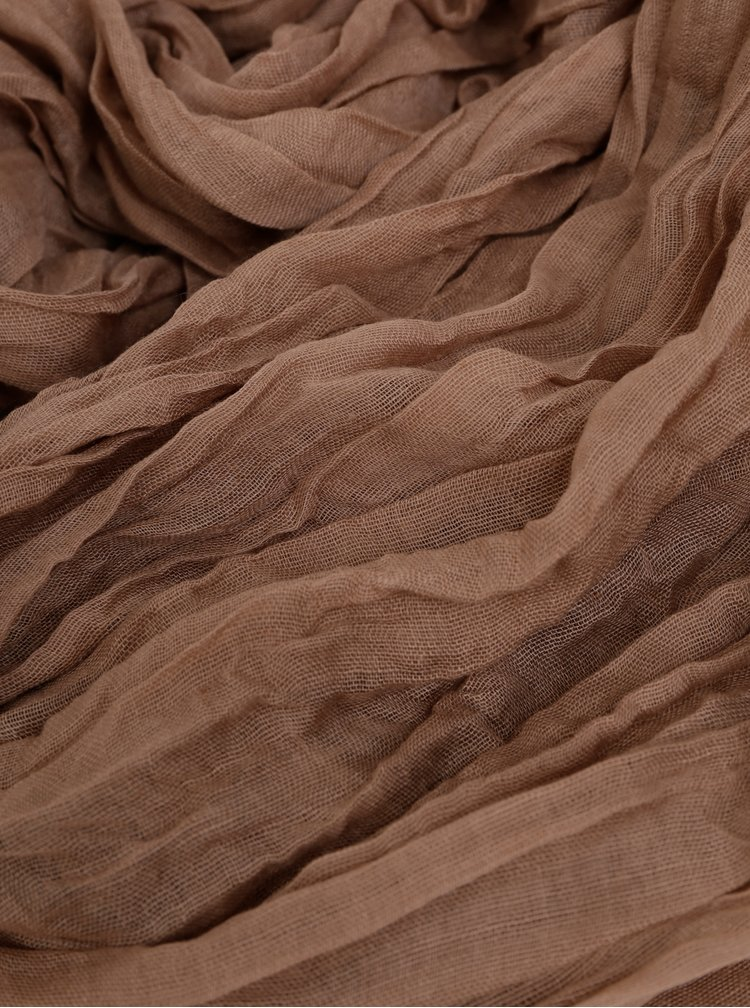 Světle hnědý dámský šátek Haily´s Uni