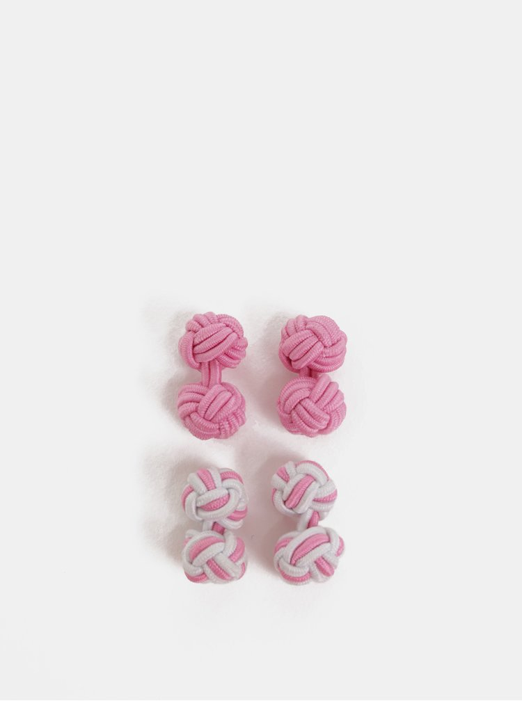 Butoni roz Burton Menswear London
