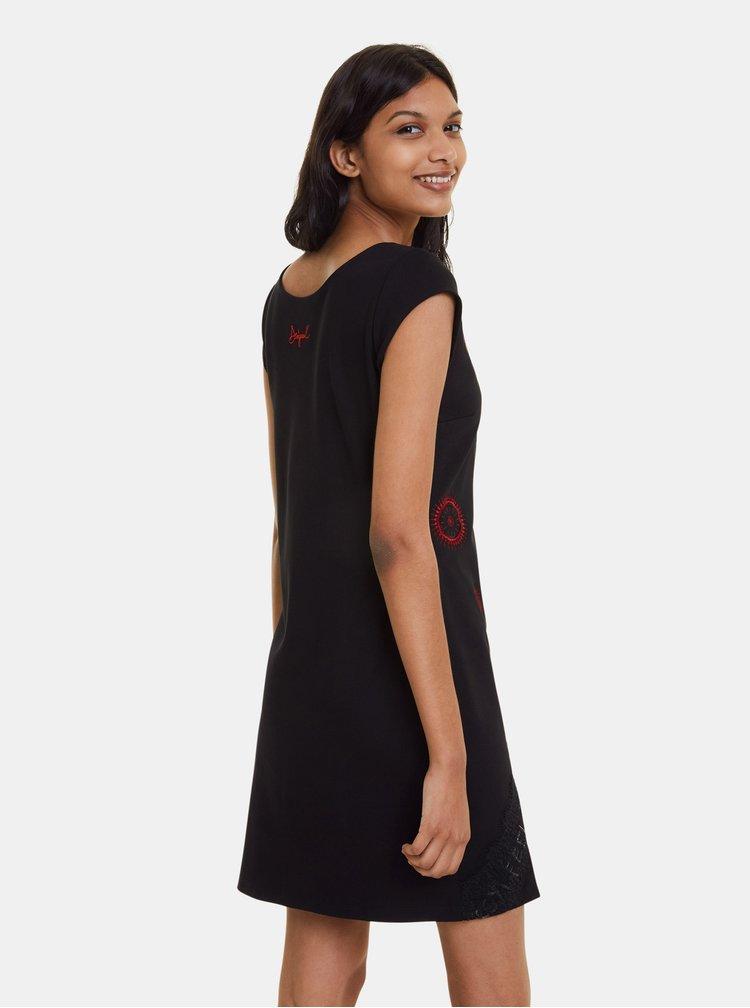 Černé šaty Desigual Briana