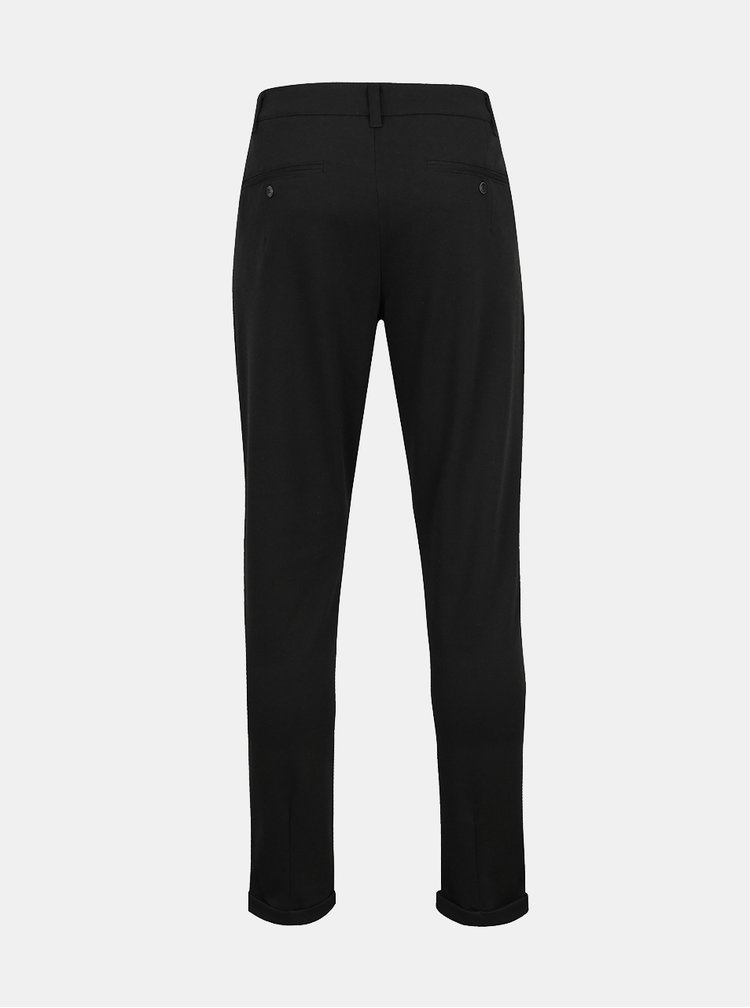 Pantaloni chino negri ONLY & SONS Solid