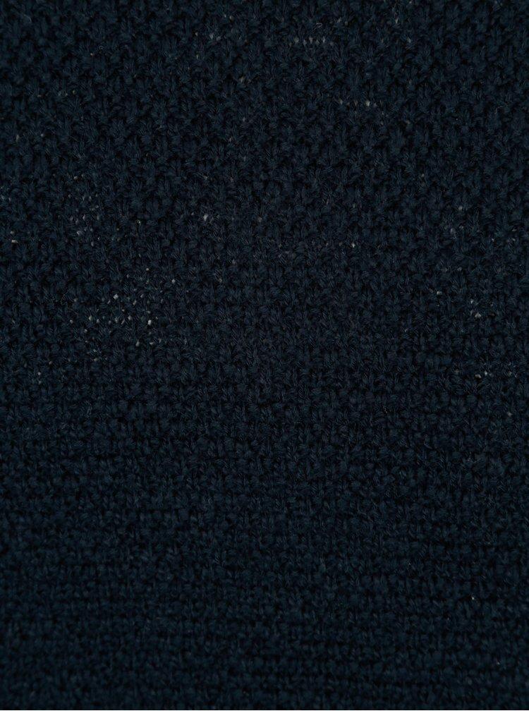 Tmavomodrý sveter Jack & Jones Ewan
