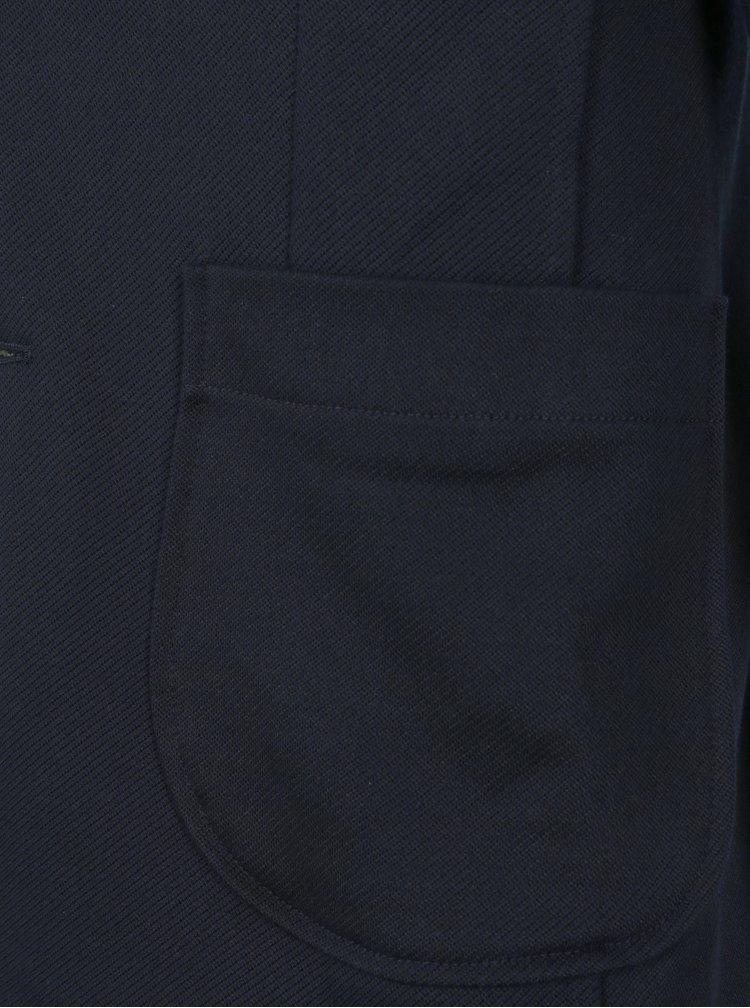 Tmavomodré sako s vreckami Jack & Jones Geff