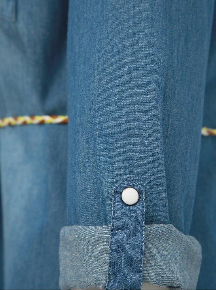 Modré džínové košilové šaty Haily´s Patty