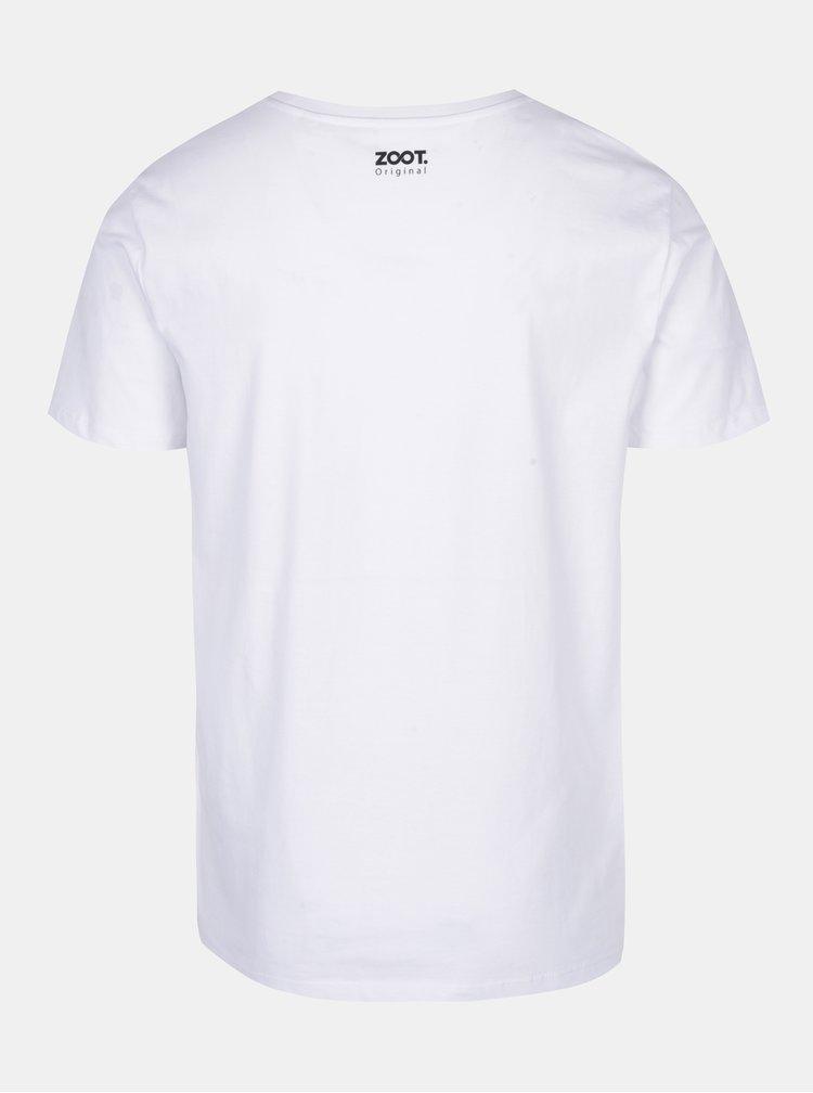 Bílé pánské tričko ZOOT Originál Mám to nalinkovaný
