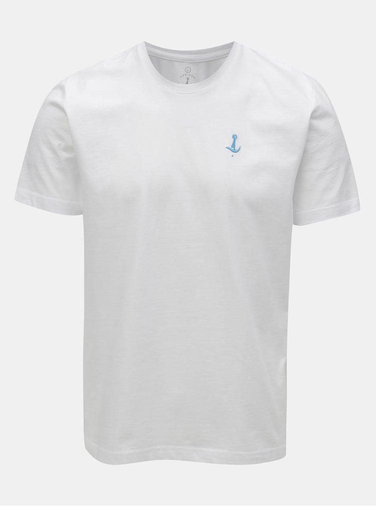 Bílé basic tričko Mr.Sailor