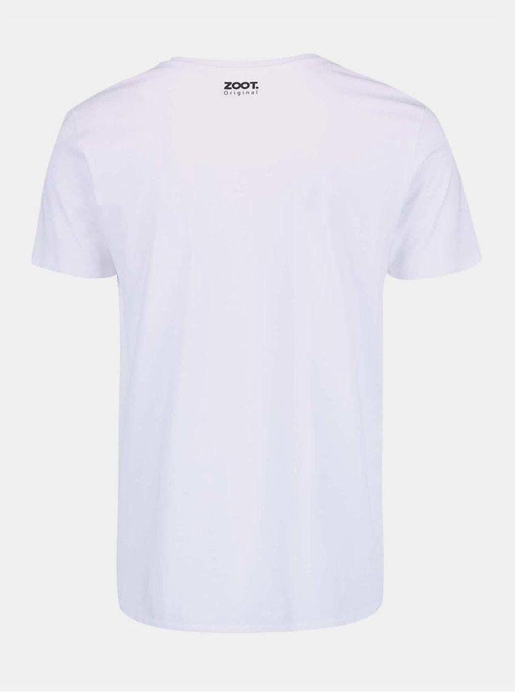 Bílé pánské hokejové tričko ZOOT Originál Jarda