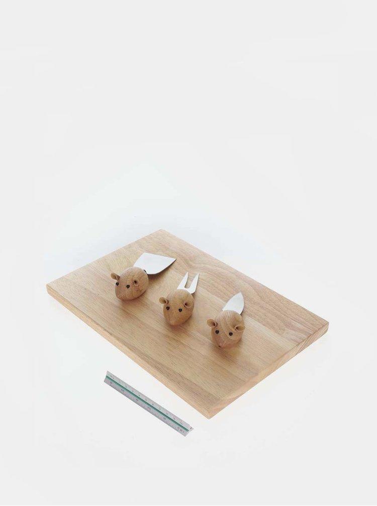 Sada na přípravu sýrů ve tvaru myší Kikkerland
