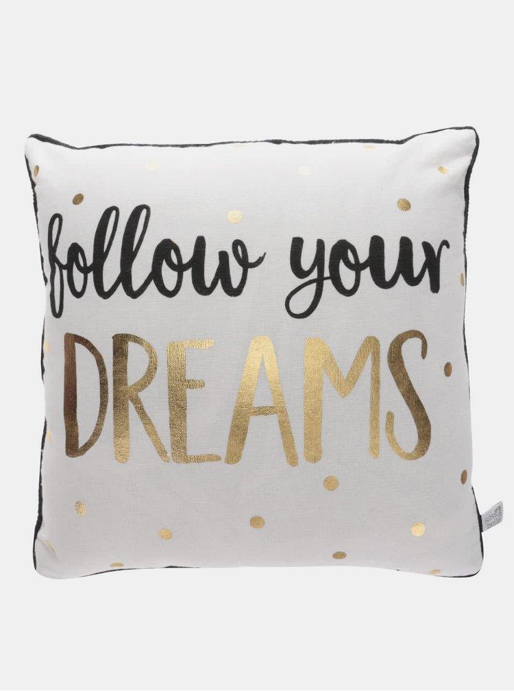 Perna bej Sass&Belle Dreams cu imprimeu text