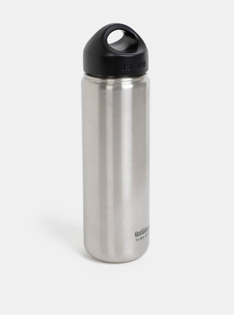Nerezová láhev ve stříbrné barvě Klean Kanteen 800 ml