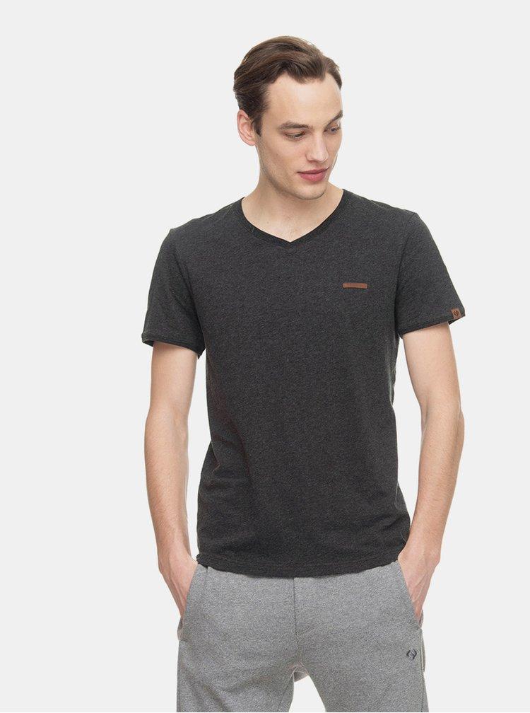 Tmavě šedé pánské tričko Ragwear Venie