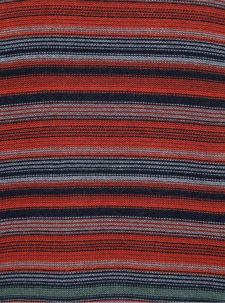 Pulovere pentru barbati Jack & Jones - caramiziu, albastru inchis, gri