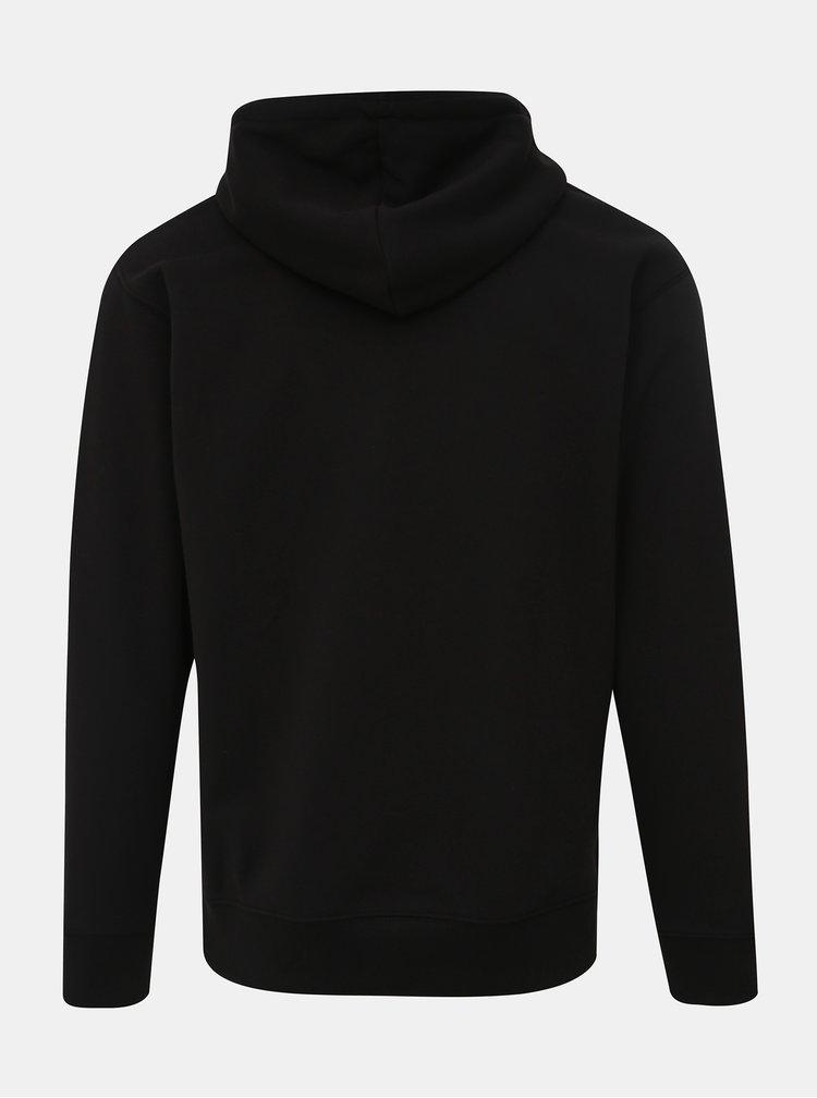 Čierna basic mikina Jack & Jones Soft