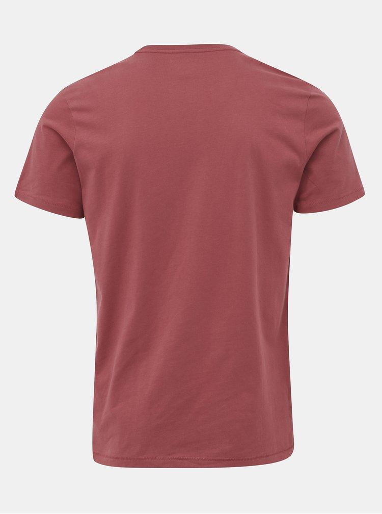 Červené tričko Jack & Jones Skoll