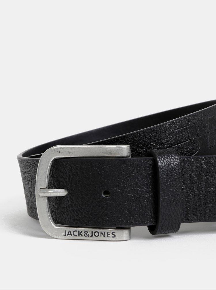 Čierny opasok Jack & Jones Harry