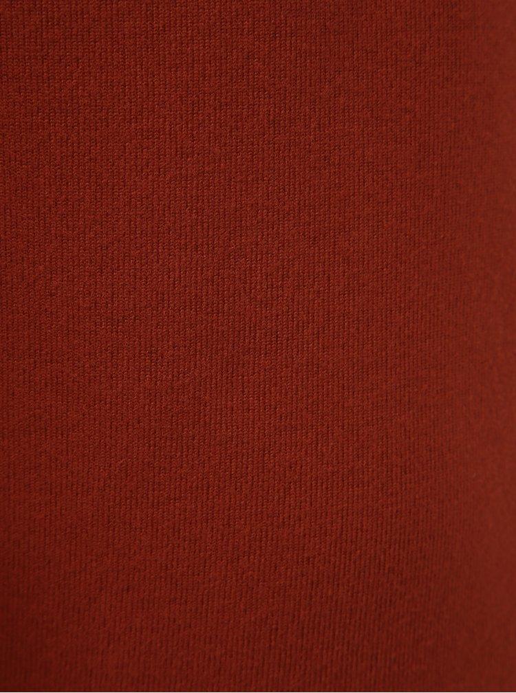 Tehlový sveter Vero moda Malena