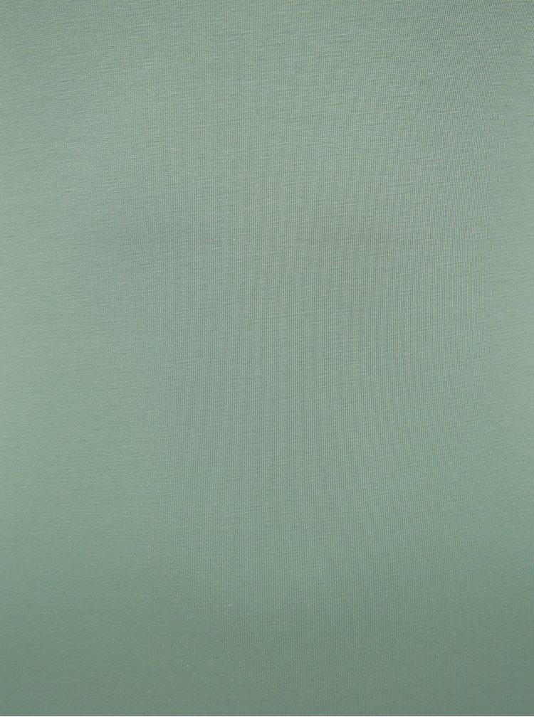 Svetlozelené basic tričko VERO MODA Maxi