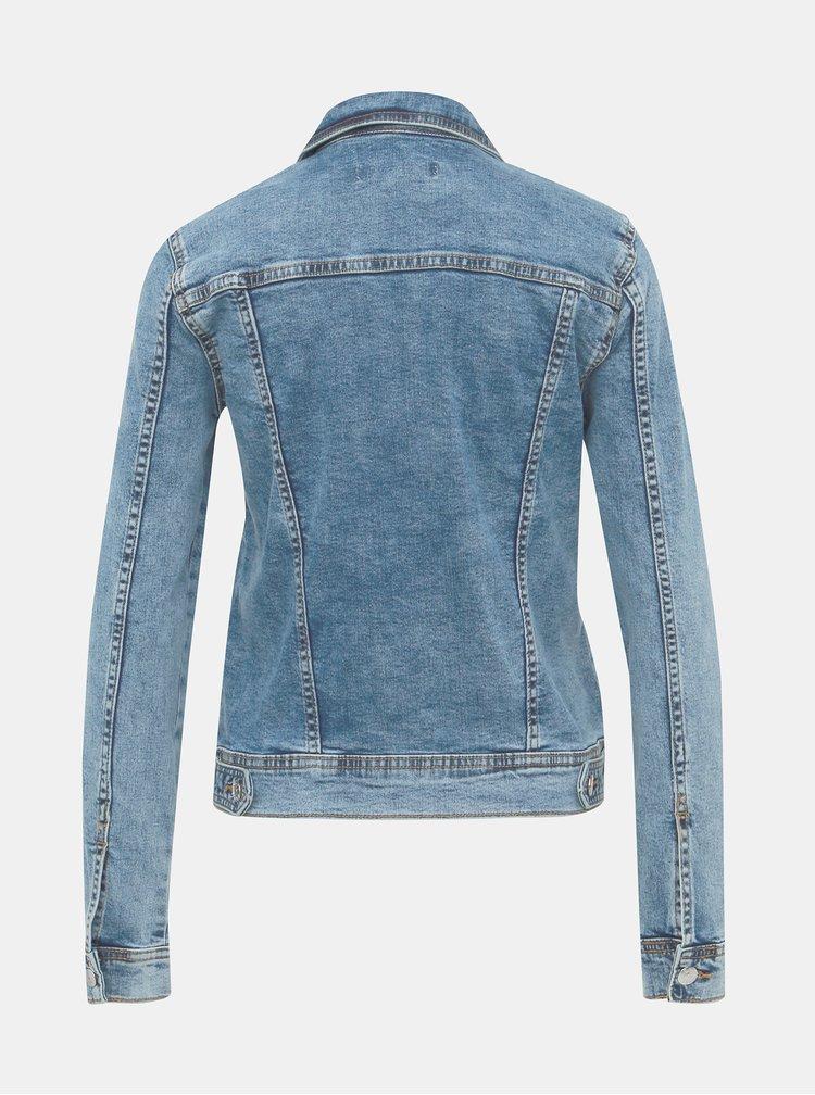 Modrá džínová bunda Jacqueline de Yong Faria