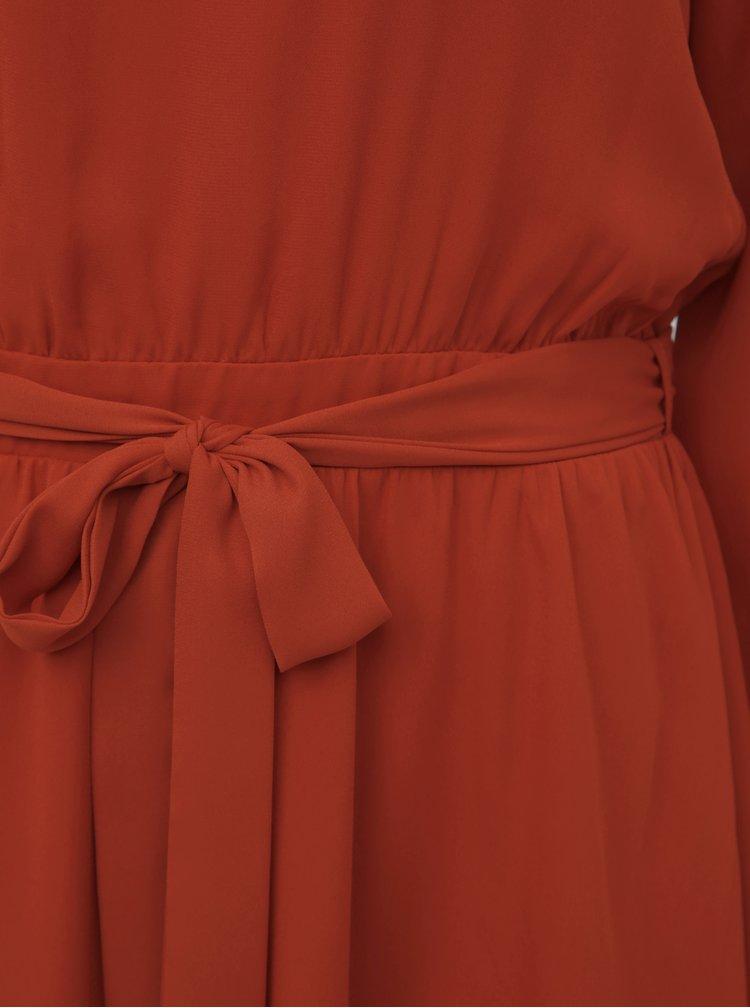 Tehlové šaty VILA Lucy