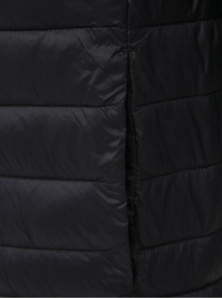 Čierna bunda Jack & Jones Bomb