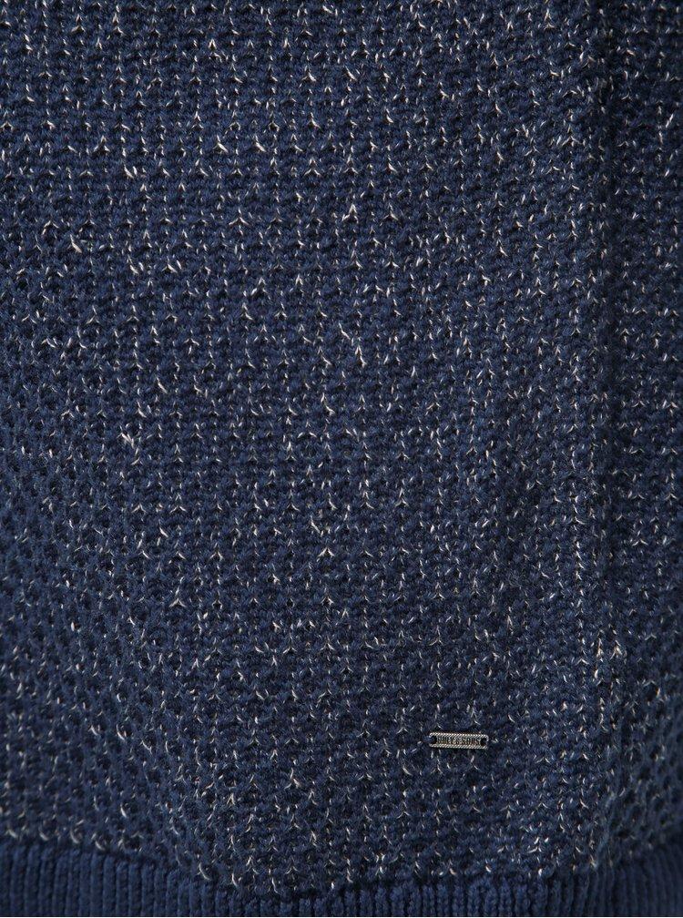 Tmavě modrý žíhaný svetr ONLY & SONS Call