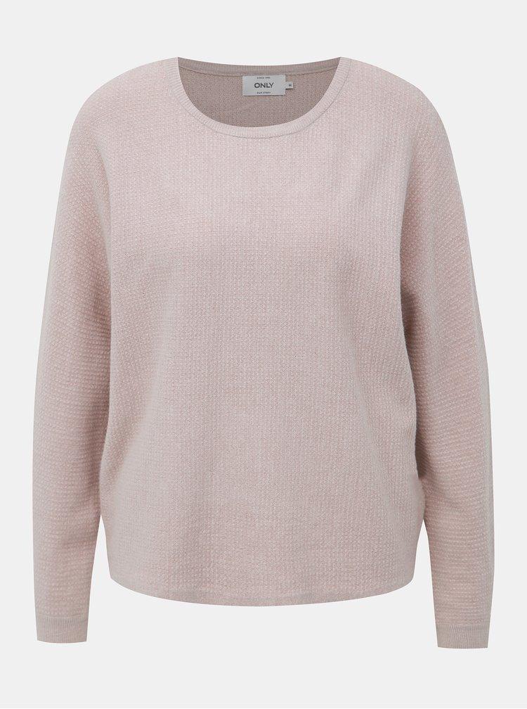 Béžový sveter ONLY Leah