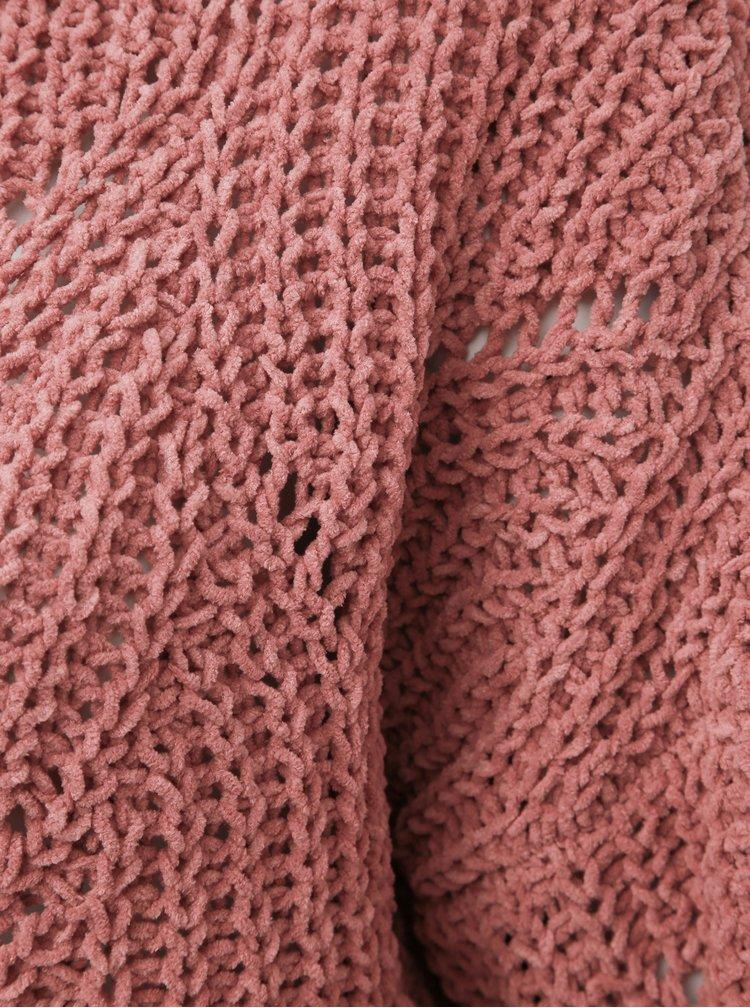 Marimi curvy pentru femei ONLY CARMAKOMA - roz prafuit