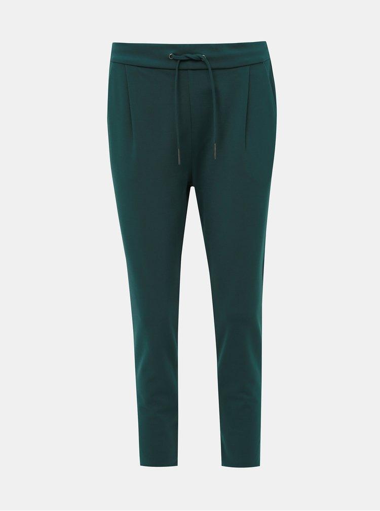 Zelené nohavice VERO MODA Eva