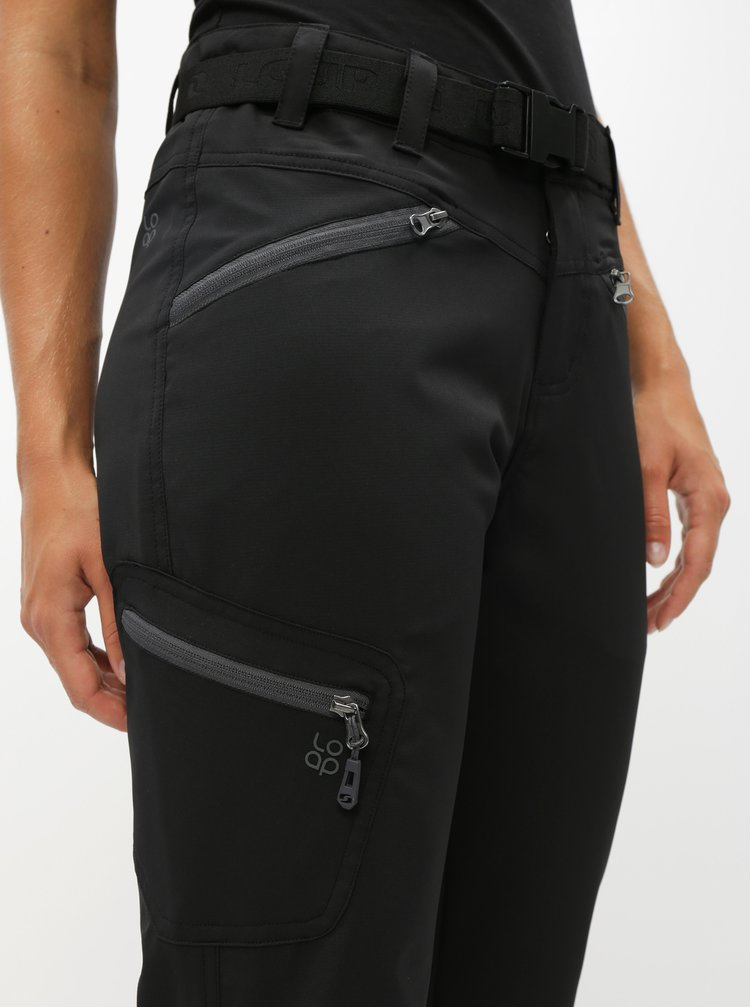 Černé dámské sportovní kalhoty LOAP Umma