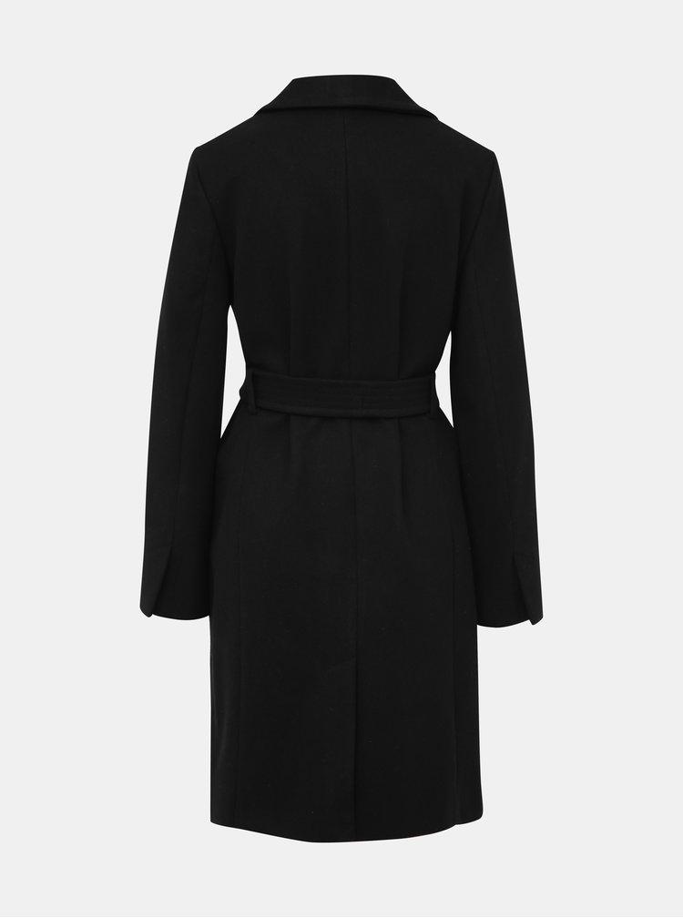 Čierny tehotenský kabát Dorothy Perkins Maternity