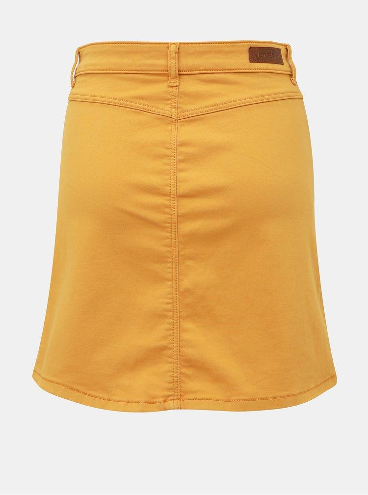 Žltá sukňa Jacqueline de Yong Lara