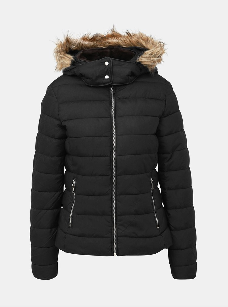 Čierna dámska zimná bunda Alcott