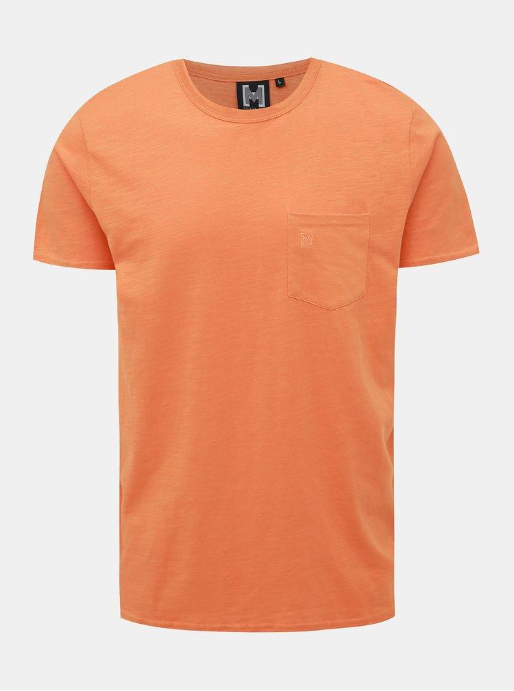 Oranžové pánske tričko Haily´s Abel
