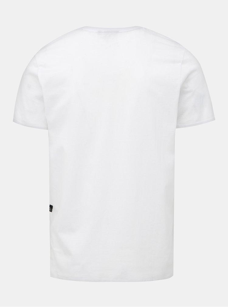 Bílé pánské tričko s potiskem Haily´s Denim