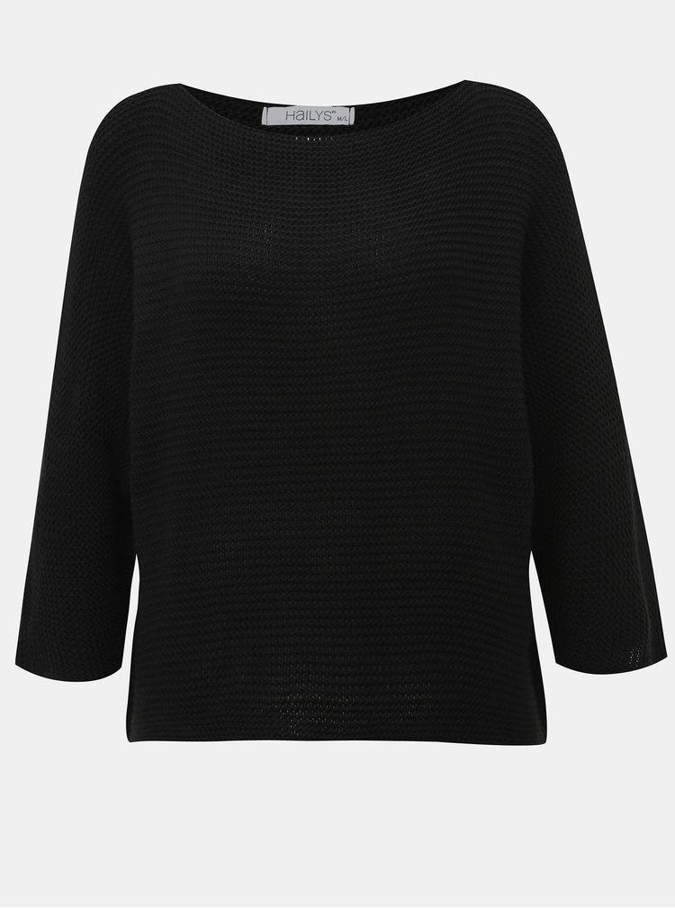 Čierny dámsky sveter Haily´s Anne