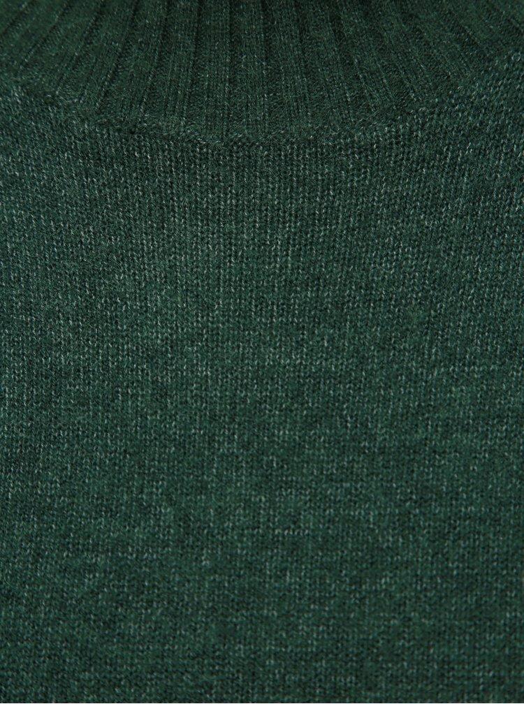 Tmavě zelený basic svetr VILA Viril
