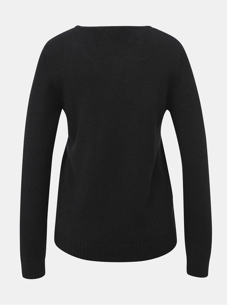 Čierny sveter VILA Viril