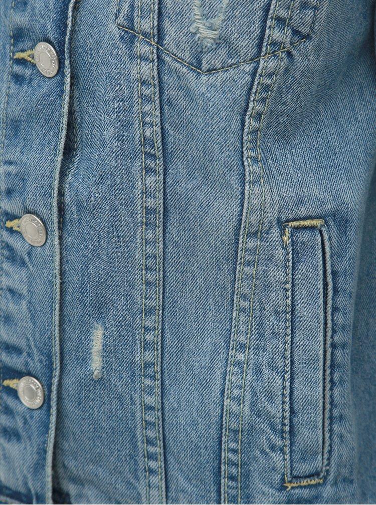 Modrá rifľová bunda TALLY WEiJL