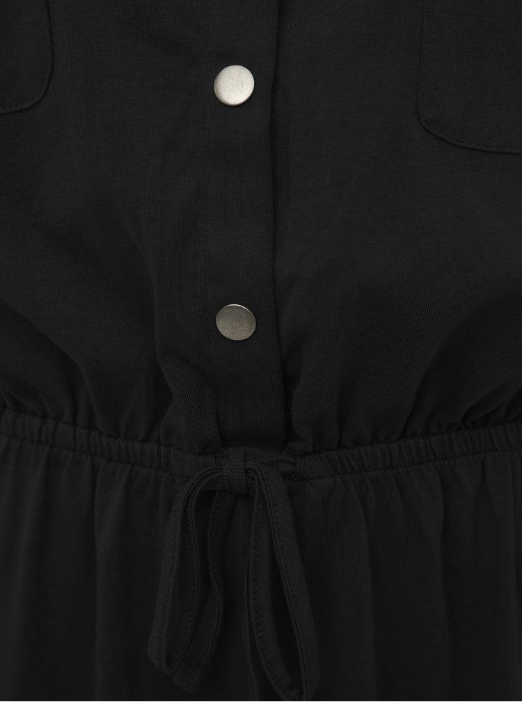 Čierne midišaty Jacqueline de Yong Pernille