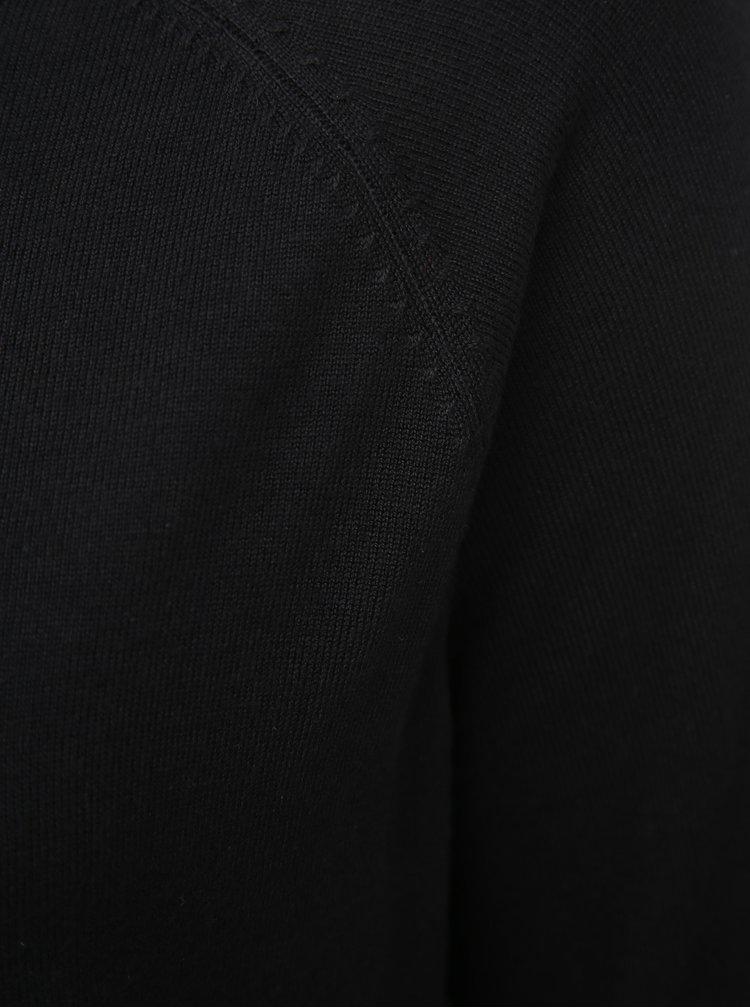 Čierny sveter ONLY CARMAKOMA Lady