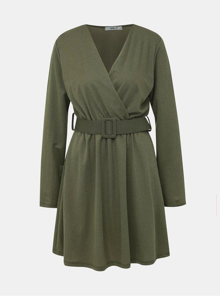 Khaki šaty Haily´s Camille