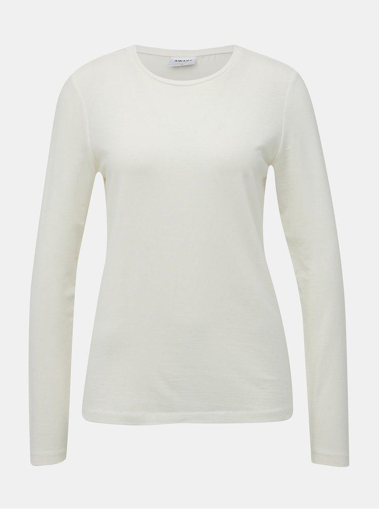 Biele basic tričko AWARE by VERO MODA Mava