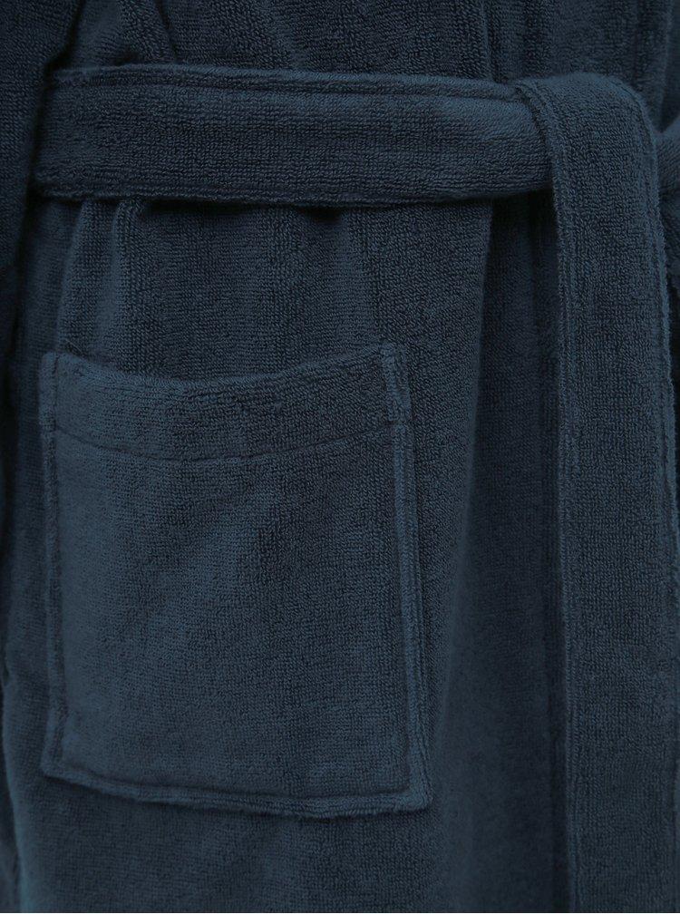 Tmavě modrý pánský župan Tommy Hilfiger